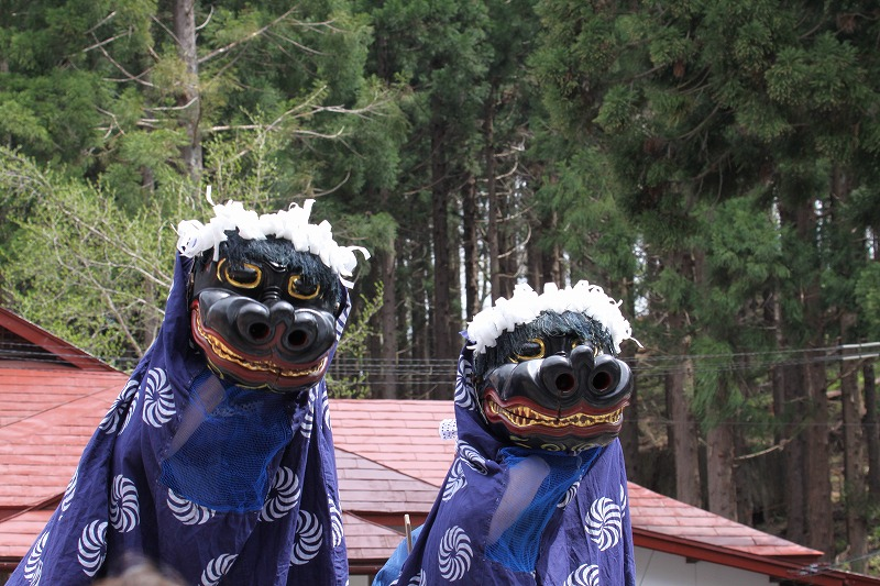 2014年天台寺春の例大祭02