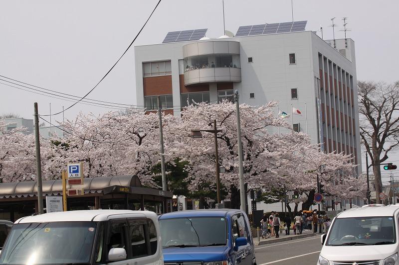 2014年春の十和田市官庁街通10