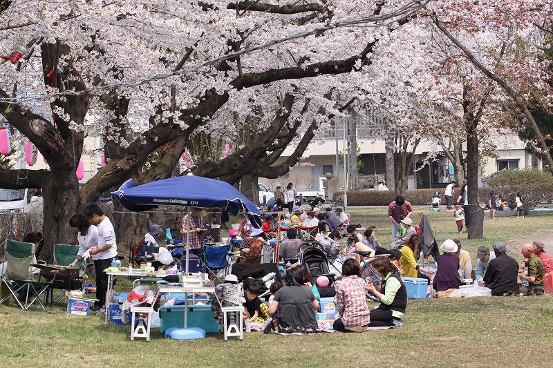 2014年春の十和田市官庁街通08